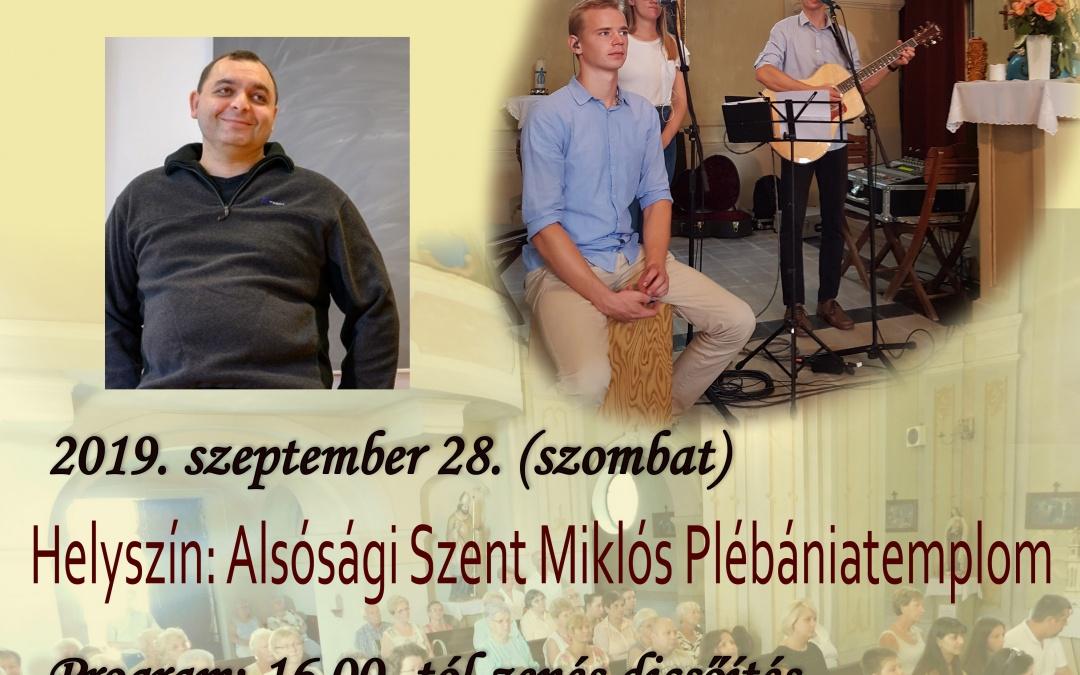 Zenés Dicsőítő Est – 2019. szeptember 28.