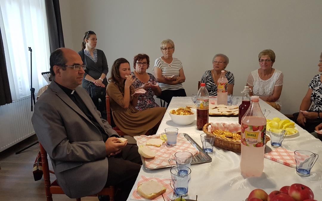 Püspöki látogatás a plébánián